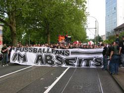 Bundesweite Demo in Frankfurt 2005